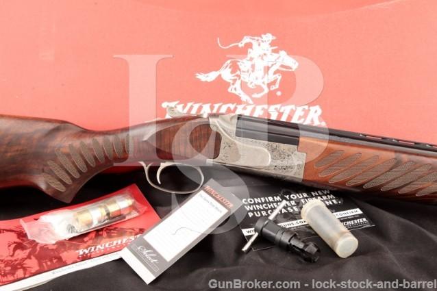 Winchester FN Belgium Select Extreme Elegance 101 26 O U Over Under Shotgun & Case, MFD 2004-2006