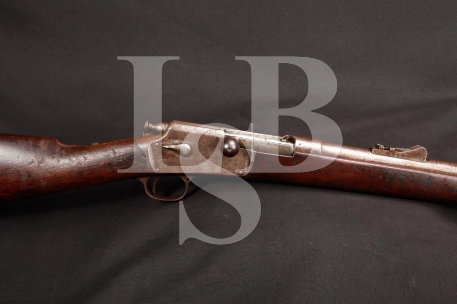 Winchester Hotchkiss Repeating Rifle Model of 1883 Third Type .45-70 Govt. Bolt Action Musket MFD 1884, Antique