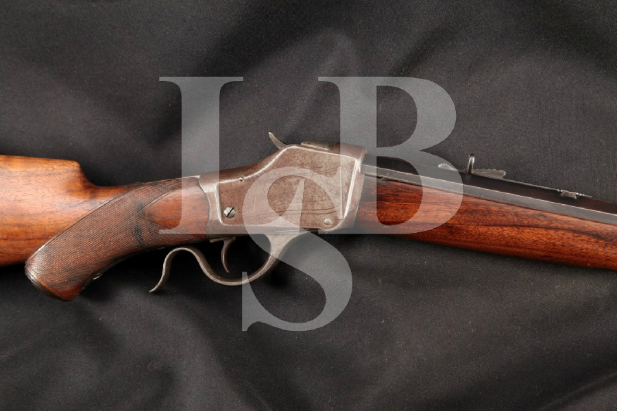 "Winchester Model 1885 High Wall Sporting, Blue 27 13/16"" Falling Block Single Shot Rifle, MFD 1892 Antique"