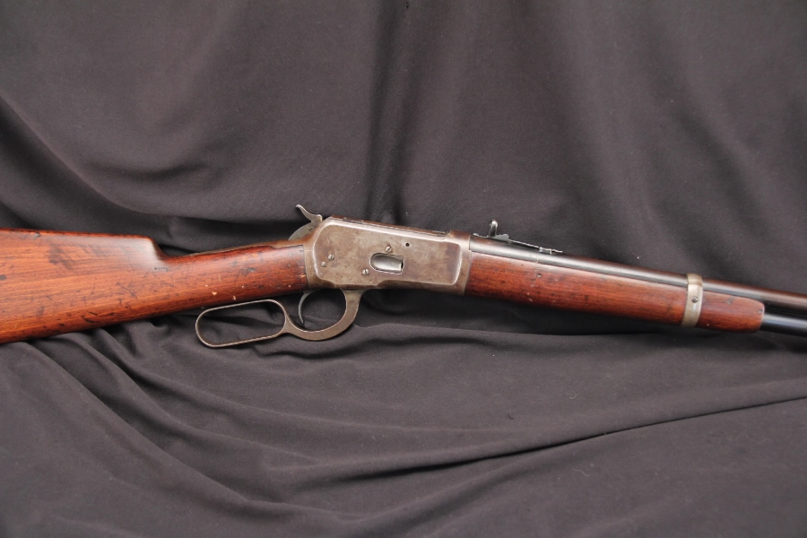 Winchester Model 1892 Mfg 1913 — Saddle Ring Lever Action Carbine .44-40 WCF – C&R