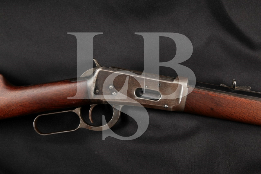 "Winchester Model 1894, Blue, Octagon Barreled 26"" Lever Action Tube Fed Rifle, MFD 1908 C&R"