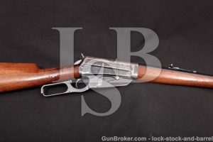 "Winchester Model 1895 95 Takedown, 1914 C&R .30-03 Blue 24"" Box Magazine Lever Action Rifle & Photos"