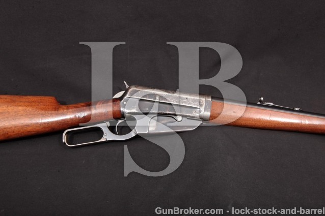 Winchester Model 1895 95 Takedown, 1914 C&R .30-03 Blue 24″ Box Magazine Lever Action Rifle & Photos
