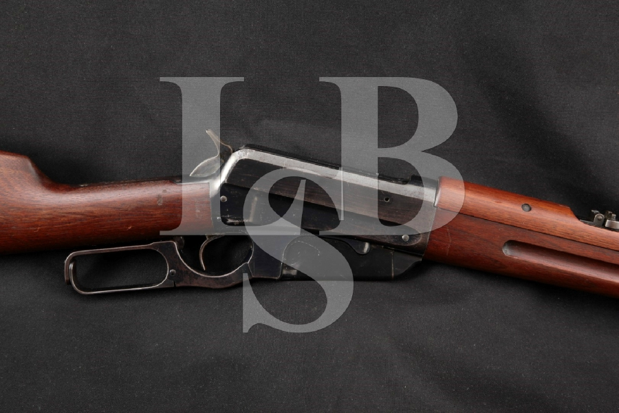 "Winchester Model 1895 Saddle Ring Carbine U.S. Marked, Blue 22"" RARE Lever Action Rifle & Letter, MFD 1899 C&R"