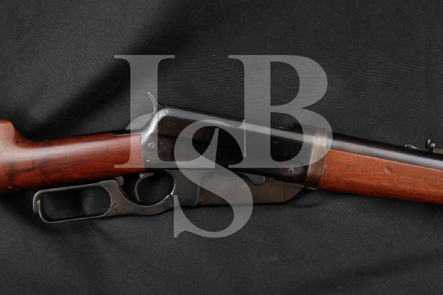 "Winchester Model 1895 Takedown, Blue 24"" Lever Action Rifle, MFD 1914 C&R"