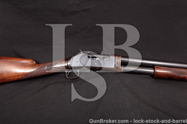 Winchester Model 1897 Black Diamond 30″ Takedown Original 12 Gauge Matted Barrel & Rib, MFD 1910