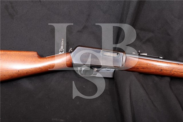 Winchester Model 1905 Self Loading Rifle .35 WSL First Year Of Production! MFD 1905 C&R NICE!