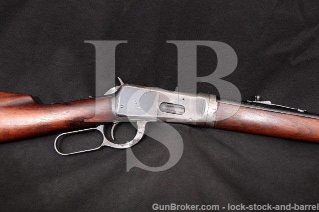 """Winchester Model 55 Takedown .30-30 WCF Blue 24"""" Lever Action Rifle Marbles & Lyman Sights 1929 C&R"""