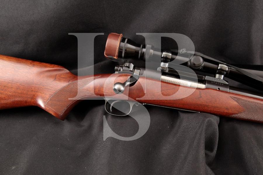 "Winchester Model 70 .300 Win. Mag. Western Alaskan, Pre-1964, Blue 24"" Bolt Action Rifle & Redfield Scope, MFD 1963 C&R"