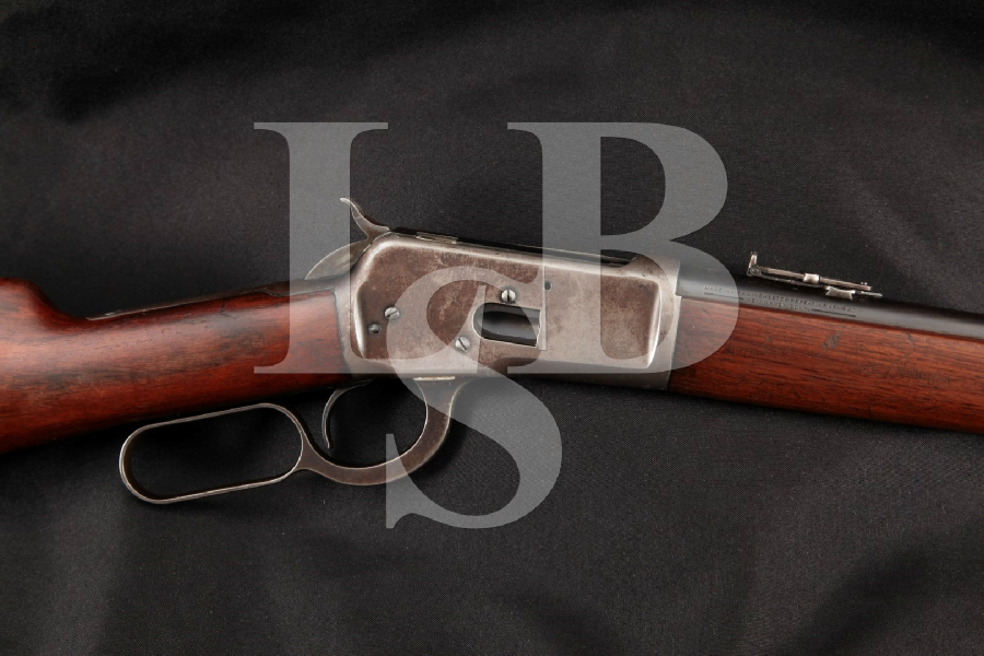 """Winchester Model 92 M92 Saddle Ring Carbine, Blue 20"""" Lever Action Tube Mag. Fed Rifle, MFD 1925 C&R"""