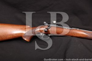 """Winchester Pre-64 Model 70 G7014C .30-06 C&R Blue 24"""" Bolt Action Rifle Target Sights, MFD 1938"""