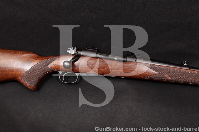 """Winchester Pre-64 Model 70 G7033CN, Blue 24"""" .270 Control Feed Bolt Action Rifle, 1952 1st Year! C&R"""