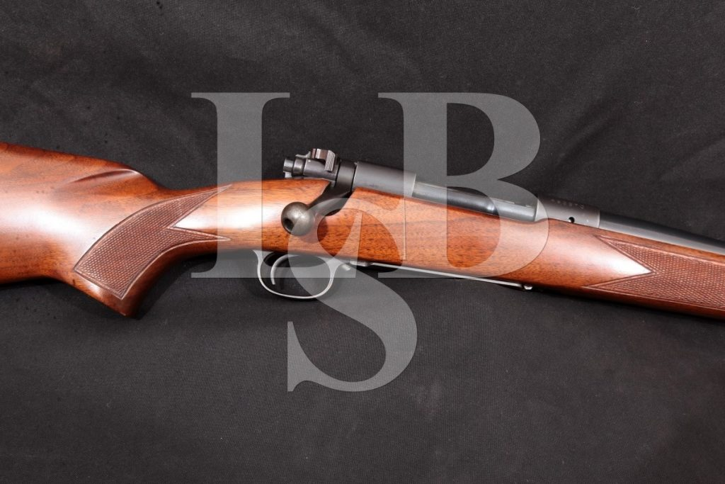 """Winchester Pre-64 Model 70 Westerner G7045, Blue 26"""" Bolt-Action Rifle, MFD 1960 First Year Offered C&R .264 Win. Mag."""