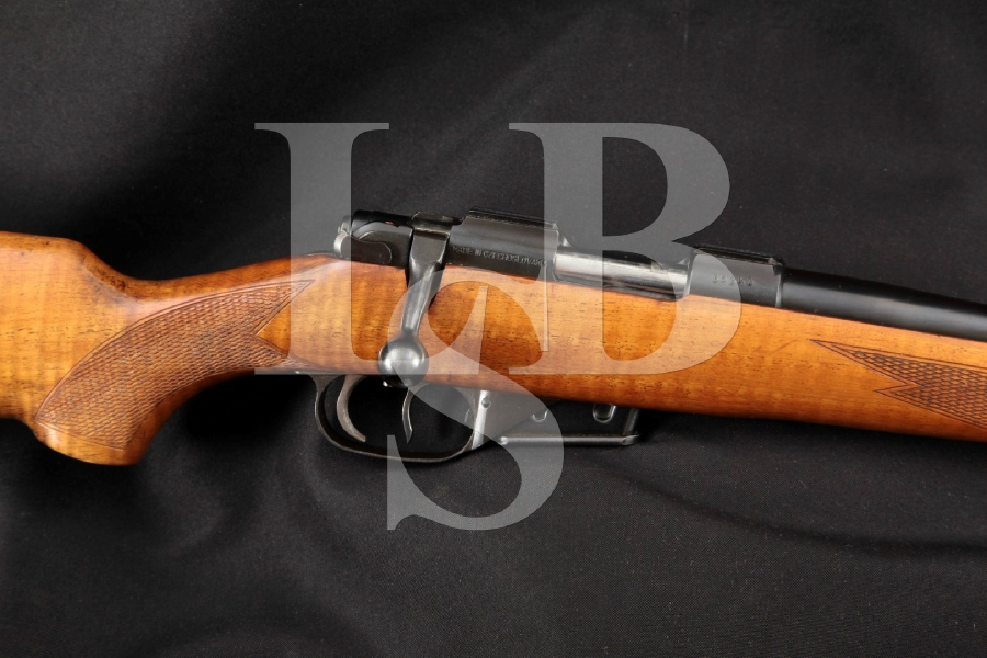 "Zbrojovka BRNO Model ZKW 465 ZKW465 Hornet Sporter, Blue 22 3/4"" Bolt Action Rifle & Double Set Trigger, MFD 1973"