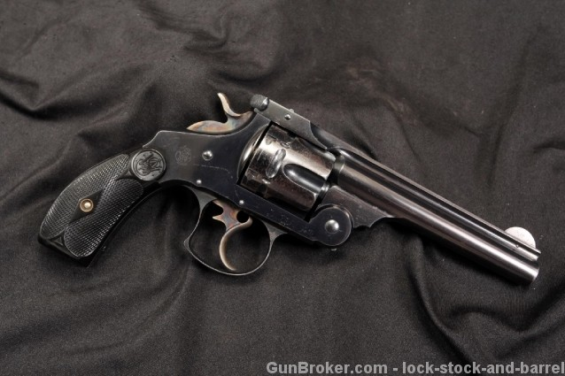Smith & Wesson S&W .44-40 WCF Frontier Revolver Double Action, Auto Extracting Revolver – Antique