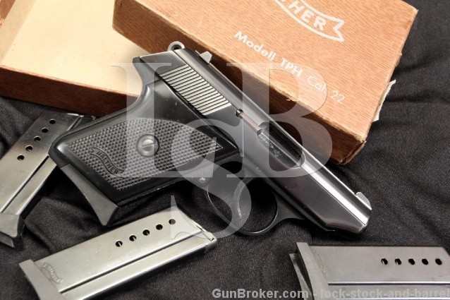 German Walther Model TPH .22 LR Semi-Automatic Pistol