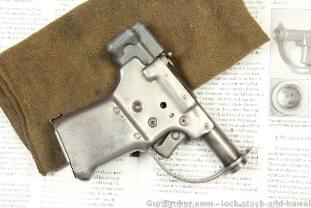 REAL General Motors Guide Lamp Division Liberator WWII .45 ACP FP-45 Liberator Pistol – C&R OK